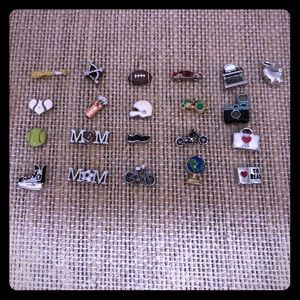 Origami Owl Sports and Hobby Charms